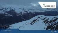 Archiv Foto Webcam Jakobshorn (2590 m) 19:00