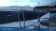 Archiv Foto Webcam Savognin, Bergstation Panoramabahn 23:00