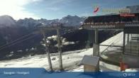Archiv Foto Webcam Savognin, Bergstation Panoramabahn 01:00