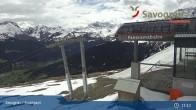 Archiv Foto Webcam Savognin, Bergstation Panoramabahn 05:00