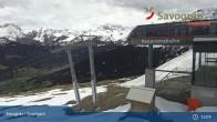 Archiv Foto Webcam Savognin, Bergstation Panoramabahn 07:00