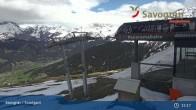 Archiv Foto Webcam Savognin, Bergstation Panoramabahn 09:00