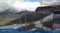Archiv Foto Webcam Savognin, Bergstation Panoramabahn 11:00