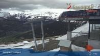 Archiv Foto Webcam Savognin, Bergstation Panoramabahn 13:00