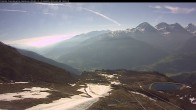 """Archived image Webcam mountain station chairlift """"Gendusas"""" 02:00"""