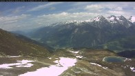 """Archived image Webcam mountain station chairlift """"Gendusas"""" 08:00"""