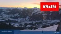Archiv Foto Webcam Kitzbühel - Bichlalm 23:00