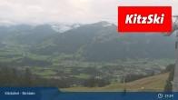 Archiv Foto Webcam Kitzbühel - Bichlalm 19:00