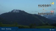Archiv Foto Webcam Kössen - Moserberg 19:00