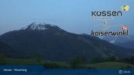 Archiv Foto Webcam Kössen - Moserberg 21:00