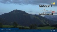 Archived image Webcam Moserberg at Kössen Ski Resort 19:00