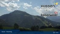 Archived image Webcam Moserberg at Kössen Ski Resort 07:00