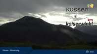 Archived image Webcam Moserberg at Kössen Ski Resort 07:00