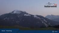 Archived image Webcam Moserberg at Kössen Ski Resort 21:00