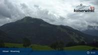 Archived image Webcam Moserberg at Kössen Ski Resort 09:00