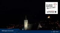 Archiv Foto Webcam Silberstadt Schwaz 21:00