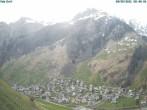 Archiv Foto Webcam Blick auf Vals Dorf 00:00