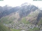 Archiv Foto Webcam Blick auf Vals Dorf 04:00