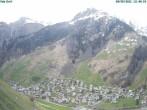 Archiv Foto Webcam Blick auf Vals Dorf 06:00