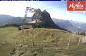 Archived image Webcam top station Brunni - Haggenegg 02:00