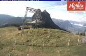 Archived image Webcam top station Brunni - Haggenegg 07:00