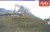 Archived image Webcam top station Brunni - Haggenegg 15:00