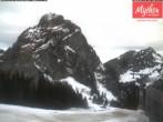 Archiv Foto Webcam Bergstation Holzegg 02:00