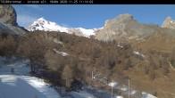 Archiv Foto Webcam Bergstation Ovronnaz-Jorasse (1940 m) 04:00