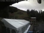 Archiv Foto Webcam La Fouly: Talstation und Auberge des Glaciers 04:00