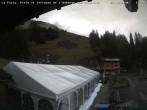 Archiv Foto Webcam La Fouly: Talstation und Auberge des Glaciers 06:00