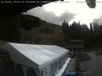 Archiv Foto Webcam La Fouly: Talstation und Auberge des Glaciers 08:00