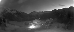 Archived image Webcam top station Heideralm 00:00