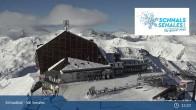 Archiv Foto Webcam Schnalstaler Gletscher: Bergstation Gletscherbahn 07:00