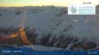 Archiv Foto Webcam Schnalstaler Gletscher: Bergstation Gletscherbahn 23:00