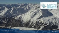 Archiv Foto Webcam Schnalstaler Gletscher: Bergstation Gletscherbahn 03:00