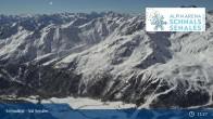 Archiv Foto Webcam Schnalstaler Gletscher: Bergstation Gletscherbahn 05:00