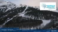 Archiv Foto Webcam Schnalstal: Talstation Gletscherbahn 01:00