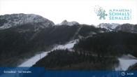 Archiv Foto Webcam Schnalstal: Talstation Gletscherbahn 19:00