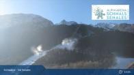 Archiv Foto Webcam Schnalstal: Talstation Gletscherbahn 07:00