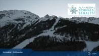 Archiv Foto Webcam Schnalstal: Talstation Gletscherbahn 21:00