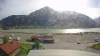 Archived image Webcam Schoeneben: Base station at lake Reschensee 00:00