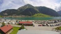 Archived image Webcam Schoeneben: Base station at lake Reschensee 06:00