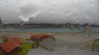 Archived image Webcam Schoeneben: Base station at lake Reschensee 08:00