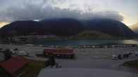 Archived image Webcam Schoeneben: Base station at lake Reschensee 00:00