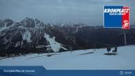 Archiv Foto Webcam Kronplatz - Ausblick Skigebiet 19:00