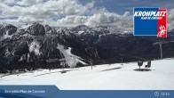Archiv Foto Webcam Kronplatz - Ausblick Skigebiet 05:00