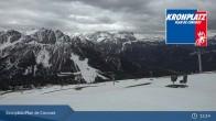 Archiv Foto Webcam Kronplatz - Ausblick Skigebiet 07:00