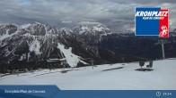 Archiv Foto Webcam Kronplatz - Ausblick Skigebiet 13:00