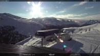 "Archiv Foto Webcam Fassatal - Moena - Ankunft der Gondelbahn ""Valbona le Cune"" 02:00"