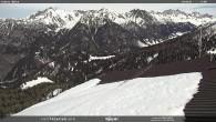 Archiv Foto Webcam Mittelstation Alpe di Lusia Moena 06:00